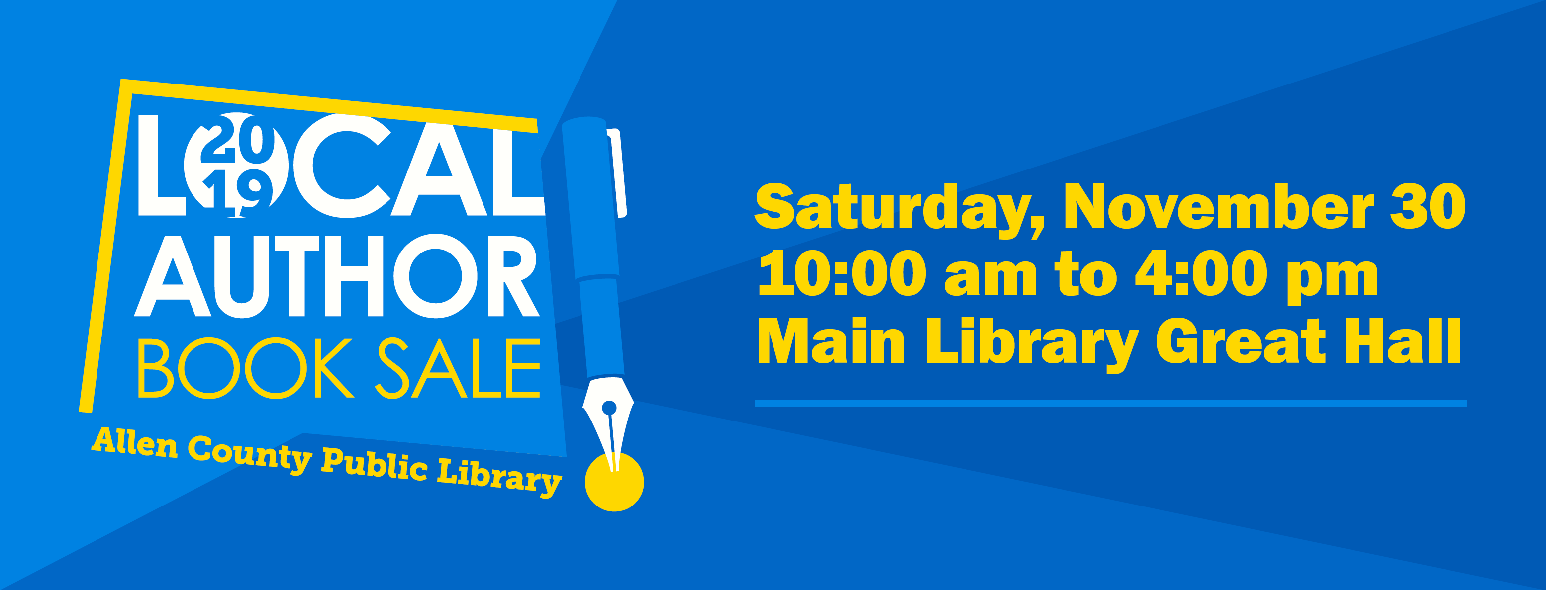 ACPL Local Author Book Sale